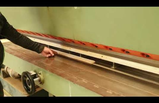 CAGLIO TRC-3200 Veneer cutting machine