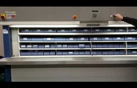 HANEL SYSTEMES ROTOMAT 936 Storage tower