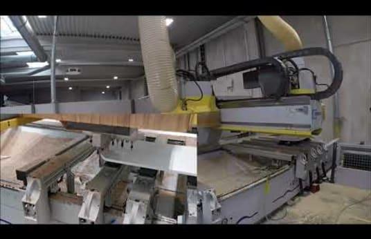 Centro de mecanizado CNC HOMAG Profi BAZ 20/30/14/2/K