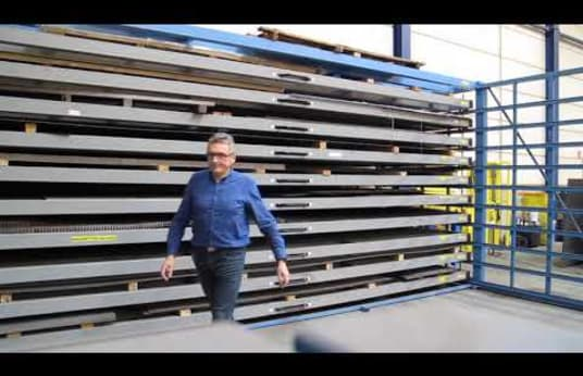 EUROSTORAGE HSR600 Plate Rack