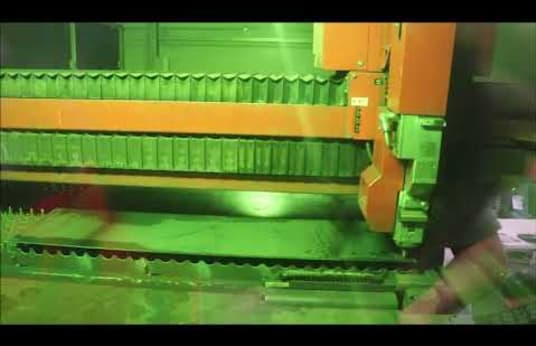 BYSTRONIC BySprint Fiber 4020 Laser Cutting Machine