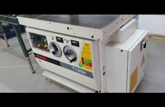 SCM T 150 K Spindle Moulder with Tilting Spindle and Automatic Feeder
