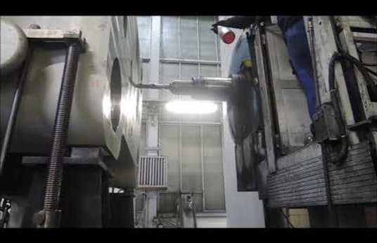 SCHARMANN WF 240/150 Floor Type Boring Mill