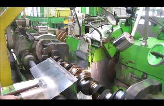 NAXOS-UNION K630/2500 Crankshafts Grinding Machine