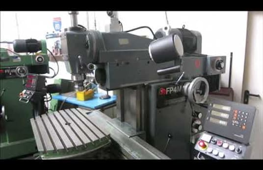 DECKEL FP 4M Universal Milling and Boring Machine