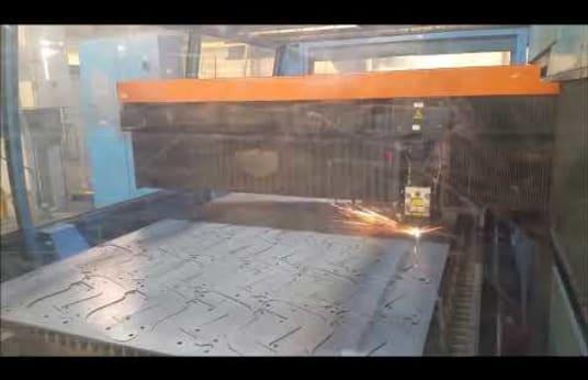 Stroj na rezanie laserom PRIMA INDUSTRIE PLATINO 1530