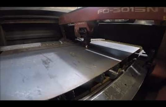 AMADA S 03015.NT Laser Cutting System
