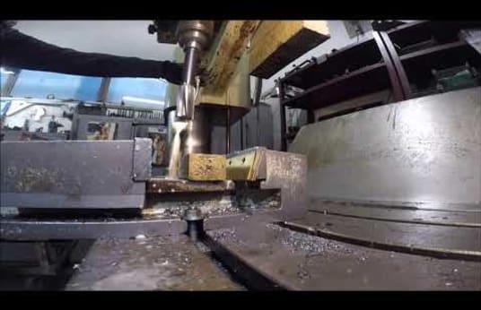 HECKERT BR 40/2 X 1250 Radial Drilling Machine
