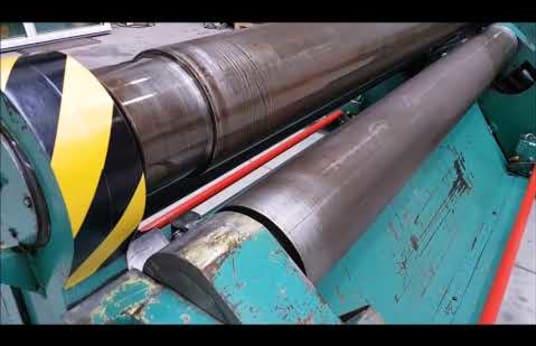 SCHÄFER SRMVHY 2050 x 8/5/4 mm Hydraulic Bending rolls