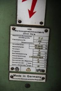 Mandrinadora de columna móvil con mesa giratoria WOTAN B 160 P i_00361258