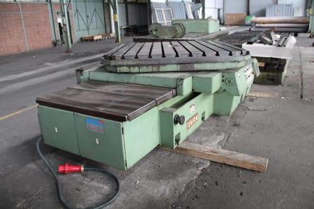 WOTAN B 160 P Horizontális fúró-marómű with rotary table i_00361260