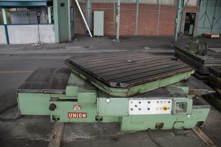 Mandrinadora de columna móvil con mesa giratoria WOTAN B 160 P i_00361261