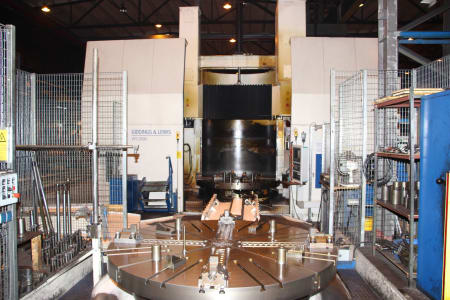 GIDDINGS & LEWIS VTC 2500 CNC-Vertikal Dreh und Fräszentrum i_02755852