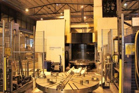 GIDDINGS & LEWIS VTC 2500 CNC-Vertikal Dreh und Fräszentrum i_02755871
