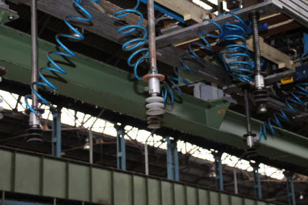 CANNON Schäumanlage für geformte Isolierplatten (Kühlmöbel) i_02773226