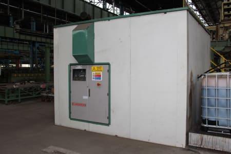 Installation de moussage pour panneaux isolants moulés (unités de réfrigérateurs) CANNON i_02773244