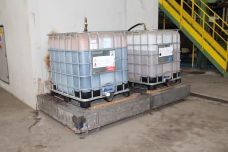 Installation de moussage pour panneaux isolants moulés (unités de réfrigérateurs) CANNON i_02773251