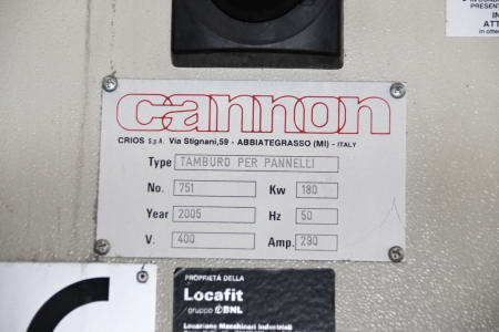 Línea de producción para planchas curvas aisladas CANNON i_02773263