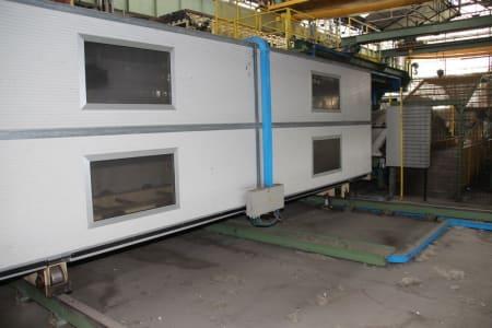 Installation de moussage pour panneaux isolants moulés (unités de réfrigérateurs) CANNON i_02773275