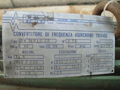 NSM SACCARDO 30KVA 100HZ Frequency Converter i_02804192