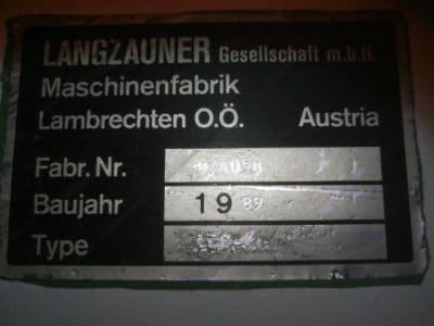 Ponceuse longue bande LANGZAUNER LZK-K i_02915816
