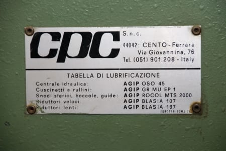 CPC PAM-3L Rahmenpresse i_02984848