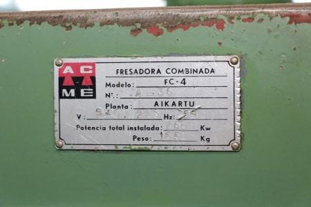 AIKARTU FC-4 Automatic circular milling machine i_03011964