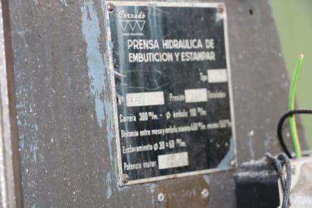 CORNADO PR-15 Hydraulische Rahmenpresse i_03012097