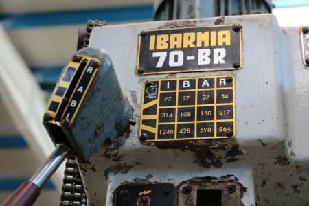 Taladro de columna IBARMIA 70-BR i_03012229