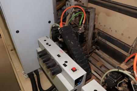 HOMAG / WEMHÖNER / MAW NOTTMEYER POWER KF 20 / SPN-1 Doppelseitige Kantenanleimmaschine i_03093463