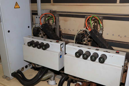 HOMAG / WEMHÖNER / MAW NOTTMEYER POWER KF 20 / SPN-1 Doppelseitige Kantenanleimmaschine i_03093465