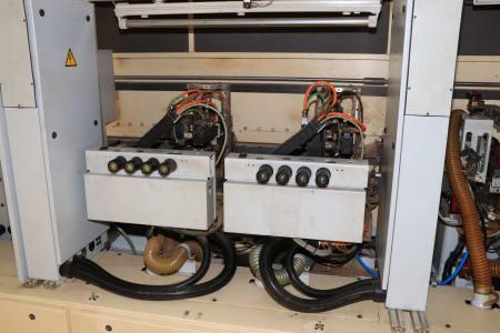 HOMAG / WEMHÖNER / MAW NOTTMEYER POWER KF 20 / SPN-1 Doppelseitige Kantenanleimmaschine i_03093503