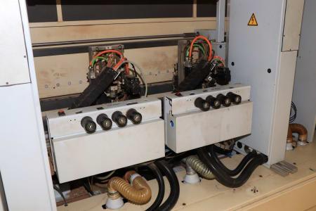 HOMAG / WEMHÖNER / MAW NOTTMEYER POWER KF 20 / SPN-1 Doppelseitige Kantenanleimmaschine i_03093506