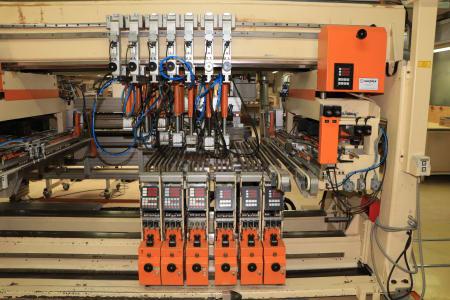 HOMAG / WEMHÖNER / MAW NOTTMEYER POWER KF 20 / SPN-1 Doppelseitige Kantenanleimmaschine i_03093528