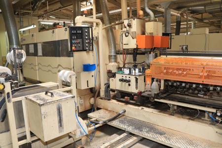 HOMAG / WEMHÖNER / MAW NOTTMEYER POWER KF 20 / SPN-1 Doppelseitige Kantenanleimmaschine i_03093539