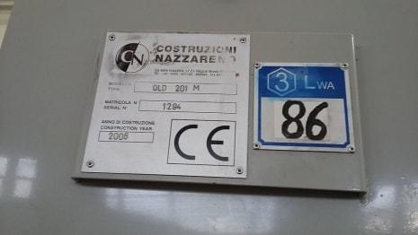 COSTRUZIONI NAZZARENO OL.D 201 M Brikettierung i_03096585