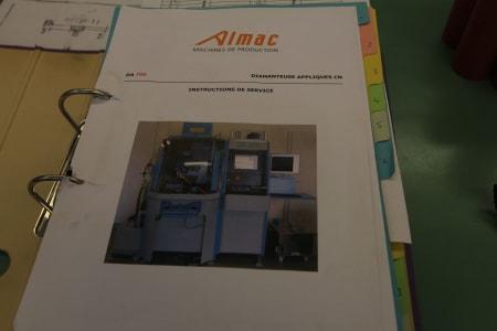 Centro di lavoro per sfaccettatura ALMAC DA 700 PC i_03152193