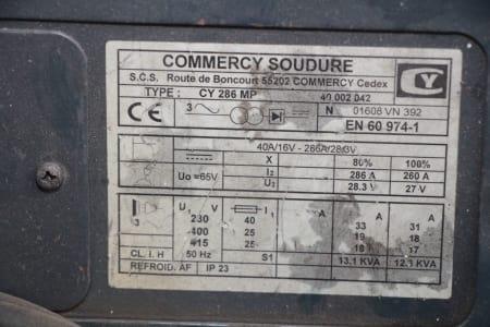 COMMERCY SOUDURE CY 286 MP Schweißmaschine i_03184397