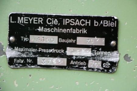 MEYER A 4150 Hydraulic Press i_03186492