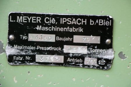 Pressa idraulica MEYER A 4150 i_03186492