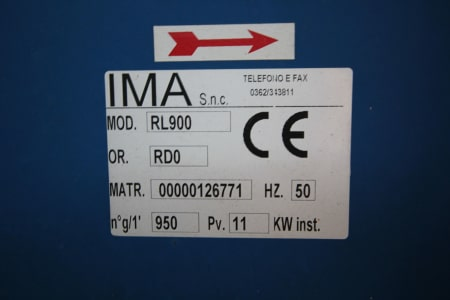 IMA RL 900 Aspiration system i_03193353