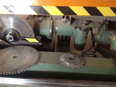 SALVADEO Coffins production machine i_03194233