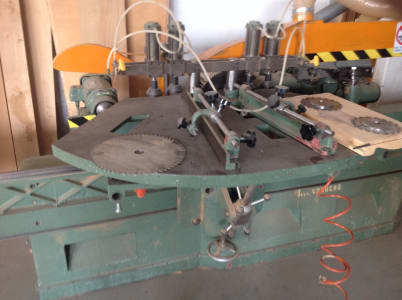 SALVADEO Coffins production machine i_03194238