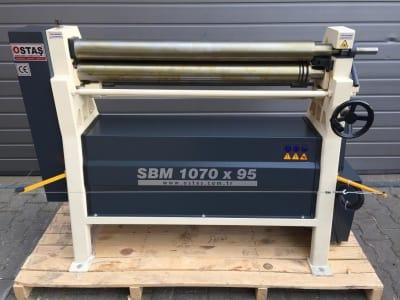 OSTAS SBM 1070 x 95 Sheet bending machine i_03214905