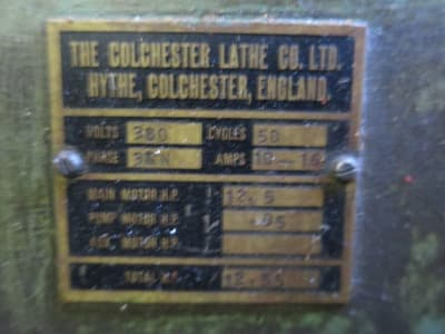 COLCHESTER Mastiff 1400 Center Lathe i_03215615
