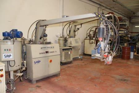 SAIP FLK 20 Foaming Machine i_03216927