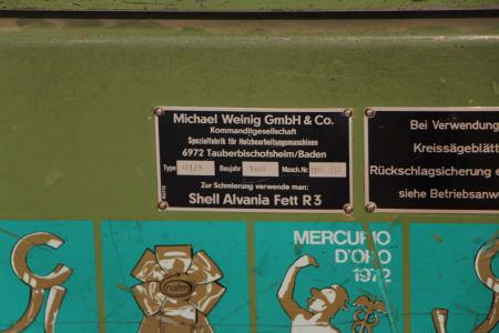 WEINIG-STÄHLE U 17 A/SATURN D Moulding and Grinding Machine i_03227688
