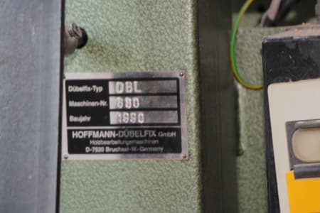 HOFFMANN DÜBELFIX DBL Dowel and Slotted Hole Drilling Machine i_03228281