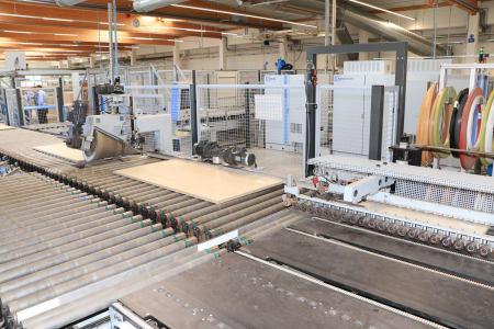 "HOMAG - HOLZMA - BARGSTEDT TFL 420 / HKL 380 / KFL 610 Flex Production Cell ""Lot Size 1"" with Laser i_03268200"