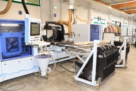 "HOMAG - HOLZMA - BARGSTEDT TFL 420 / HKL 380 / KFL 610 Flex Production Cell ""Lot Size 1"" with Laser i_03268212"